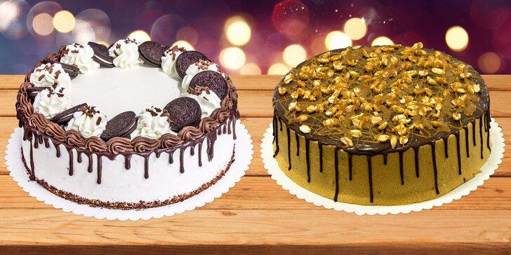 Sladké mámení: poctivý ručně vyráběný dort ve 2 velikostech a 8 variantách