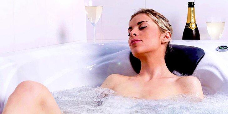 2hodinový privátní whirlpool nebo vstup do celého wellness pro dva