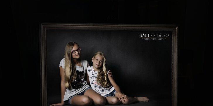 Umělecká fotografie: Fotografování v podkrovním ateliéru s profesionálem