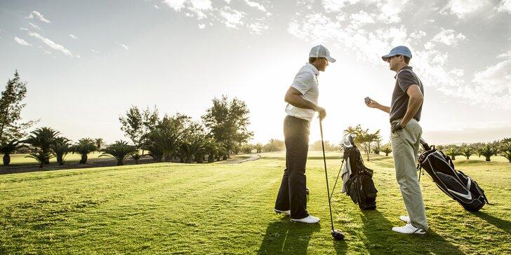 Zapracujte na odpalech: lekce golfu v Holešově s možností ročního členství