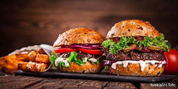 Poctivý hamburger nebo křupavá quesadilla s domácí limonádou