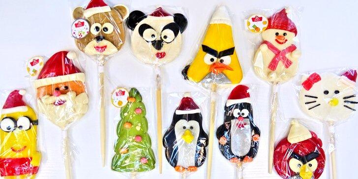 Zpestří vám vánoční mlsání: ručně dělaná lízátka z karamelu