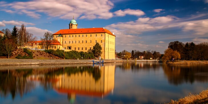 Lázeňský relax v Poděbradech: 4 či 8 dní pro 2 se snídaněmi a procedurami