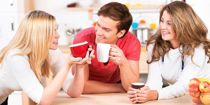 10 nebo 15 káv v příjemném bistru u nádraží a balíček zrnek na doma