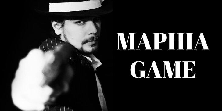 Probuďte v sobě kmotra: úniková hra Maphia Game pro 2–5 osob