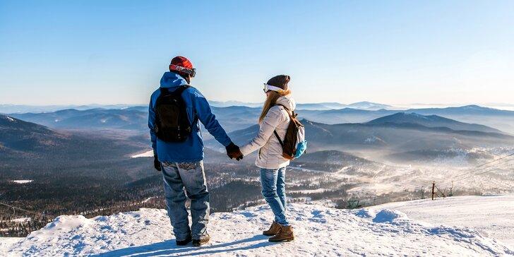 Až 6 dní turistiky či lyžování v Jeseníkách s polopenzí a třeba i vířivkou