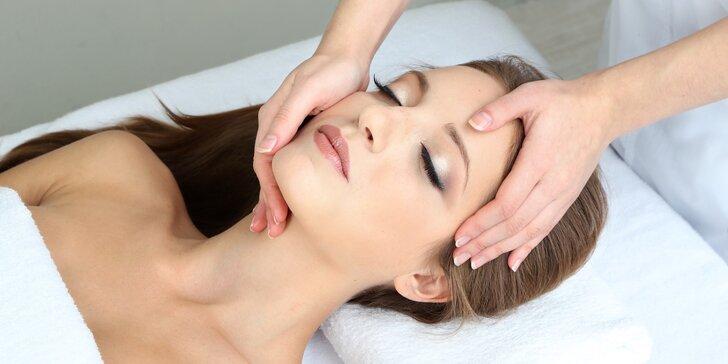 Levandulové kosmetické ošetření pleti včetně kyslíkové masáže