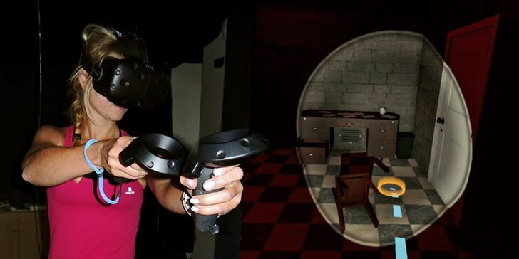 Podaří se vám utéct z podzemí? Únikovka ve virtuální realitě až pro 4 hráče