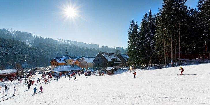 3denní lyžovačka v Beskydech s wellness a bohatou polopenzí
