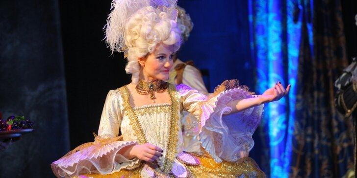 Vstupenka na muzikál Antoinetta - královna Francie v Třinci