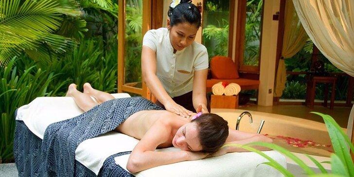 Luxusní podzimní relaxace: 100 minut masáže dle výběru v salonu Thai Sun