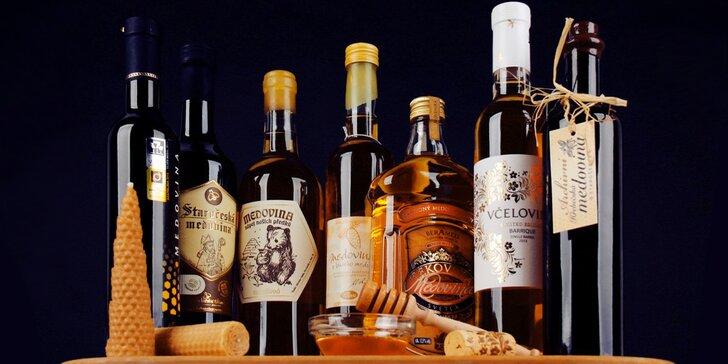 Degustace nejlepších medovin roku 2017: klasické i speciální, pro 1 nebo pro 2