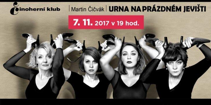 Legendární Činoherní klub přiveze do Ostravy komedii s Veronikou Žilkovou