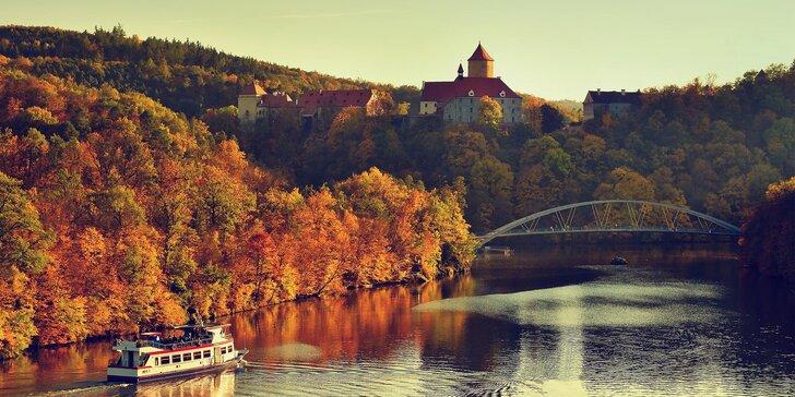 Klidný penzion 25 km od Brna: pobyt s polopenzí pro dva