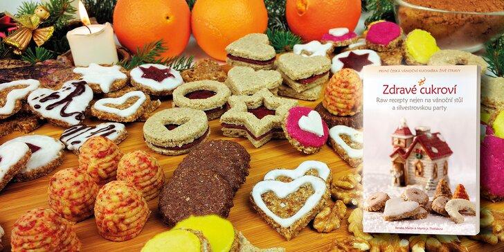 Jak na zdravé cukroví bez cukru a lepku: videokurz i tištěné a e-kuchařky