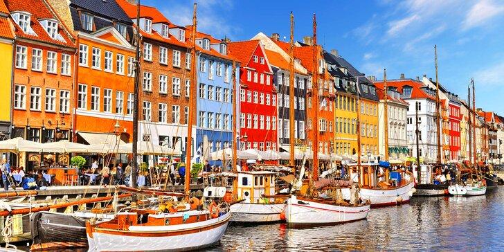 Výlet do Kodaně nejen za malou mořskou vílou: cesta autobusem a trajektem