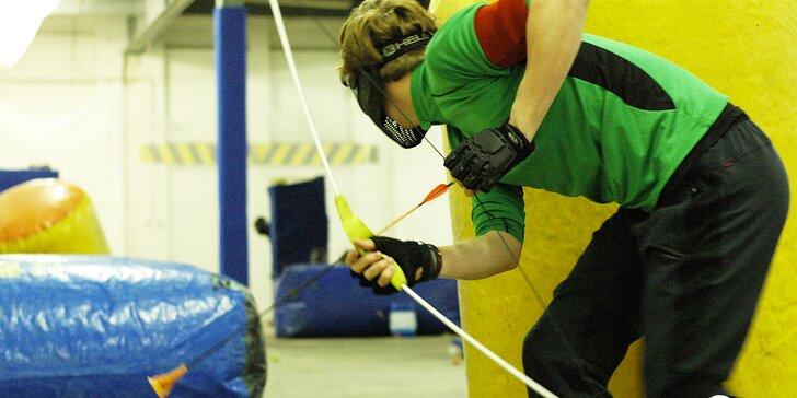 Zahrajte si na lučištníky, zkuste archery game: super zábava až pro 14 střelců