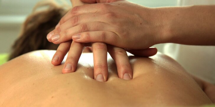 55minutová Breussova masáž v masérně SAOL