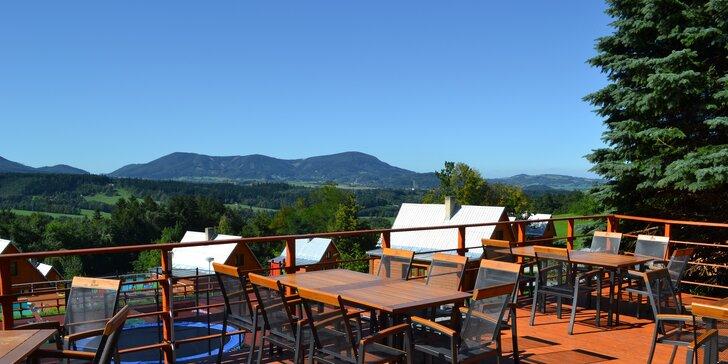 Beskydská romantika v horském hotelu - plná penze, sauna i skvělé bio hovězí