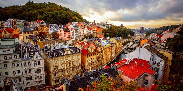 Ve dvou do Karlových Varů: apartmán v centru, snídaně v kavárně a lázně