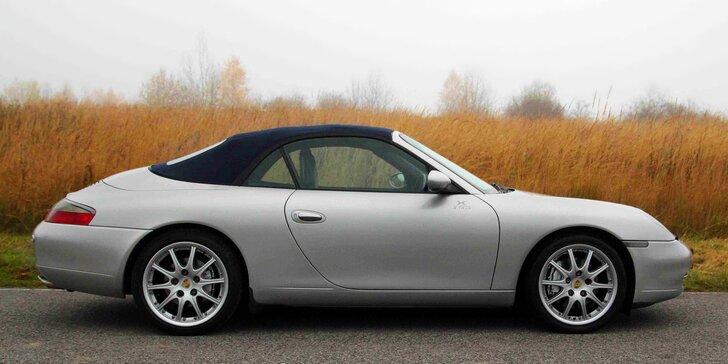 Jízda jako z filmového plátna: Zapůjčení kabrioletu Porsche 911 Carrera na víkend