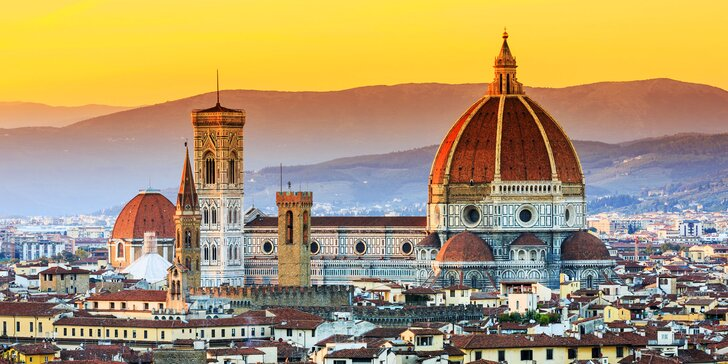 V červnu do Toskánska vč. ubytování na 2 noci: Florencie, Pisa, Siena i Volterra