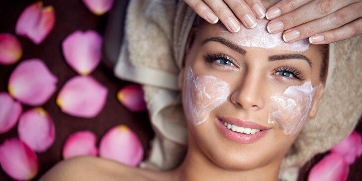 Hloubkové kosmetické ošetření pleti kosmetikou Payot vč. masáže obličeje