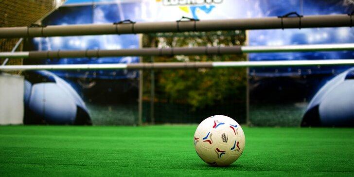 Skvělá 2hodinová zábava pro 6-12 náruživých hráčů: Živý stolní fotbal