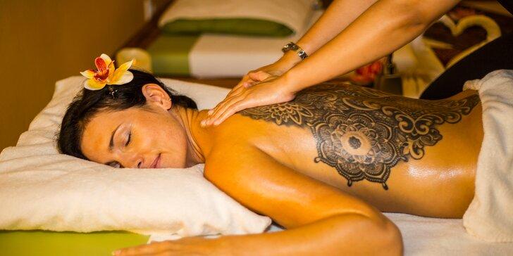 Thajské masáže v salonu Lotus v centru města: tradiční, královská i partnerská
