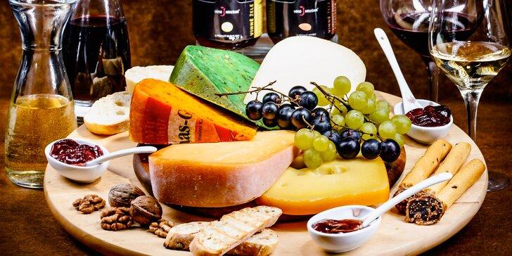 Degustace prémiových vín z Francie a Chile včetně občerstvení