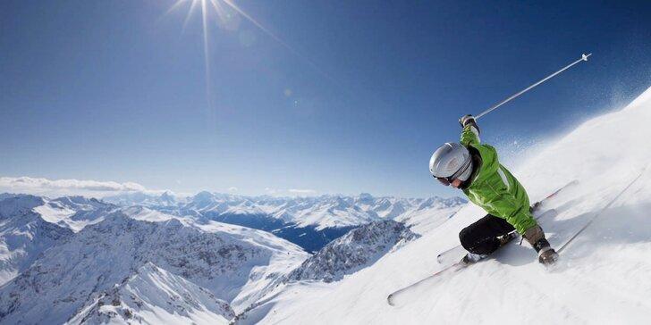 Lyžařův sen: zájezd na 2 nebo 3 noci do italských Alp s polopenzí a skipasem