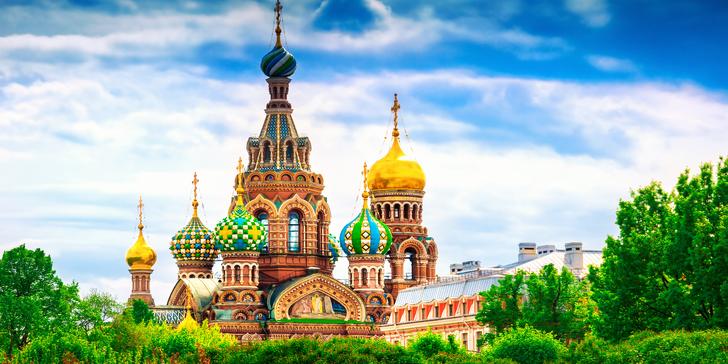 Dubnový letecký zájezd do Petrohradu včetně 3 nocí v hotelu se snídaní
