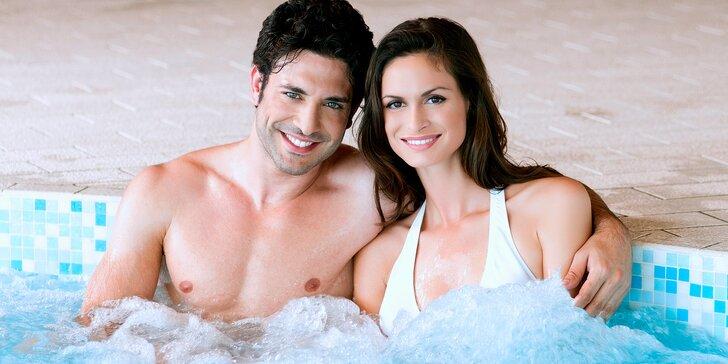 Relax pro 2 na vsi u královského města Písek s bazénem, vířivkou a saunou