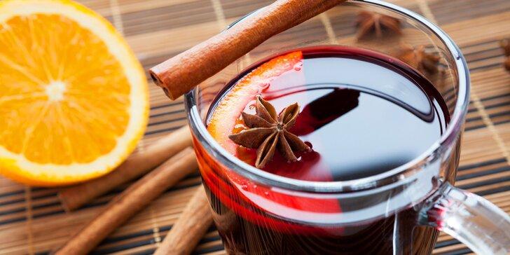 Pro příjemnou zimní atmosféru: Svařák ve vinotéce Malá Morava