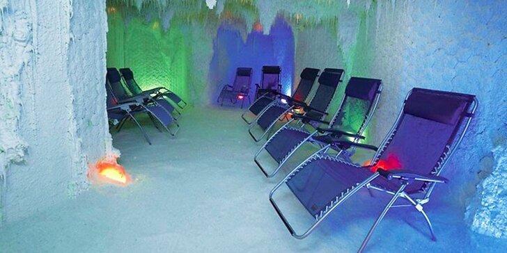 Zdravá relaxace v solné jeskyni s možností roční permanentky