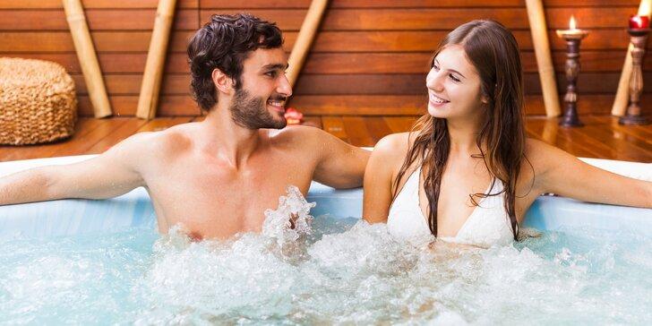 Relax pro dva: privátní wellness a rašelinový zábal