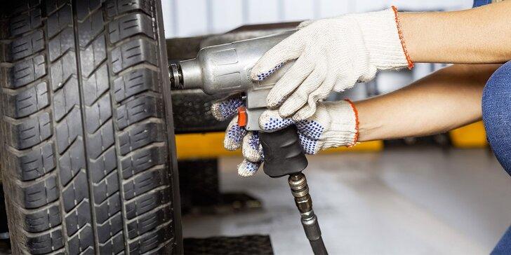 Změna sezóny si žádá své: Přehození či přezutí pneumatik i full service