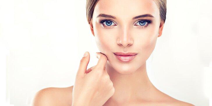 Kosmetické přístrojové ošetření s úpravou obočí