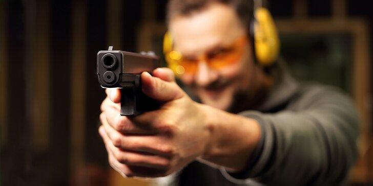 Střelba z elitních zbraní pod dohledem ostříleného profesionála