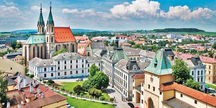 Třídenní pobyt v secesním hotelu u Kroměříže: polopenze a prohlídka zámku