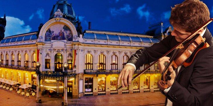 Klasické koncerty vážné hudby ve Smetanově síni Obecního domu