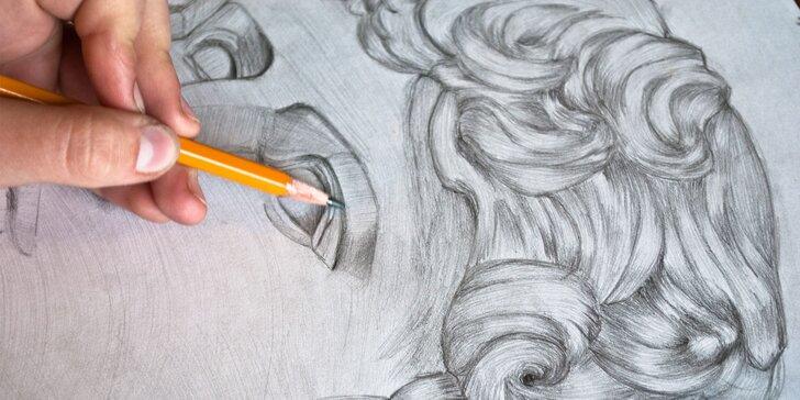 Naučte se za víkend namalovat portrét pravou mozkovou hemisférou