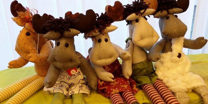Kurz kreativního šití: Originální vánoční dárečky nebo hračky