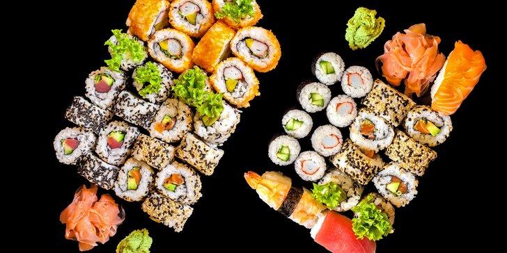 Kousek Japonska i pro vás: výběr ze tří oblíbených sushi setů