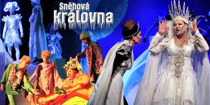 Vyjděte si na klasický pohádkový muzikál Sněhová královna do pražské Hybernie