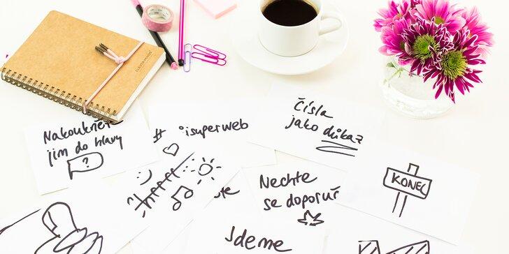Naučte se vládnout slovy: Online kurz copywritingu pro psavce i amatéry