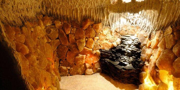 Pobyt v solné jeskyni v unikátním ionizovaném prostředí