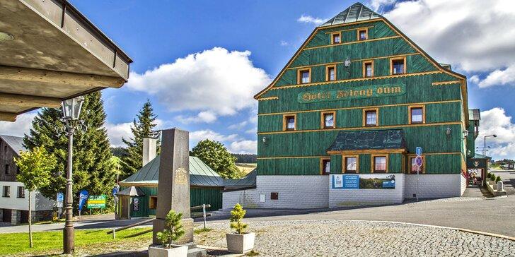 Jarní pobyt na Klínovci: Aktivní horská dovolená včetně bohaté polopenze