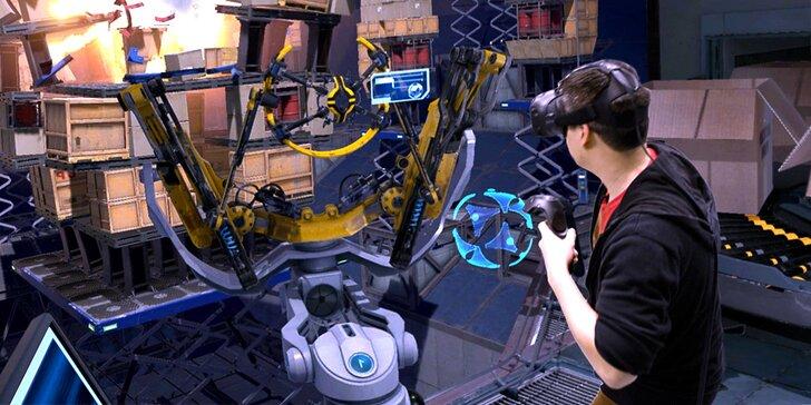Splňte si ty nejbláznivější sny: hodina ve virtuální realitě pro 1 nebo 2 hráče