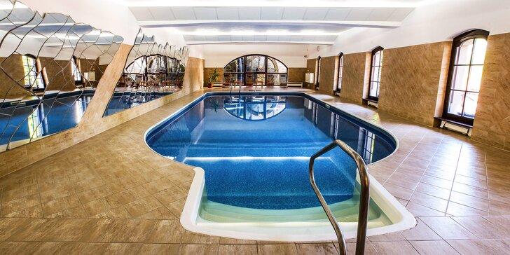 Poznejte Telč z 4* hotelu s neomezeným vstupem do bazénu a polopenzí